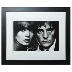 Terry O' Neill Photograph of Jean Shrimpton and Terence Stamp, 1963
