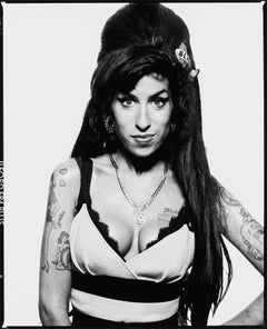 Amy Winehouse, London - Terry O'Neill (Black and White Photography)