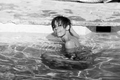 Audrey Hepburn in Pool