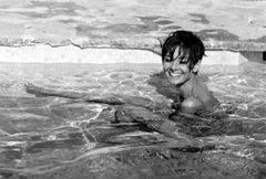 Audrey Hepburn in the Pool