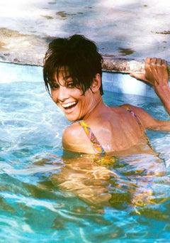 Audrey Hepburn Pool Smile