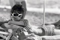 Audrey Hepburn St. Tropez Relaxing