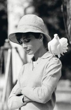 Audrey Hepburn With Dove