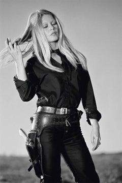 Terry O'Neill (Black and White Photography) - Brigitte Bardot