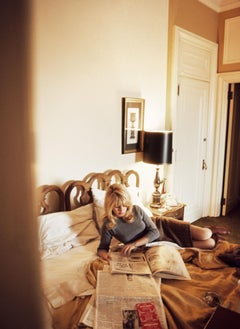 Brigitte Bardot On Bed, 1965