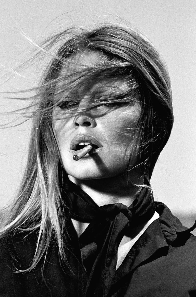 Terry O'Neill Black and White Photograph - Brigitte Bardot, Spain (co-signed)