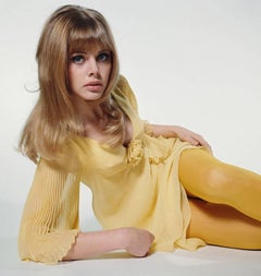 Britt Eckland in Yellow 1964