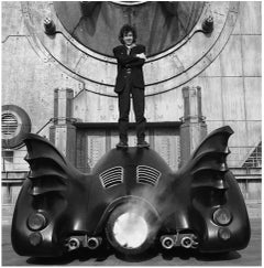 Burton and Batmobile
