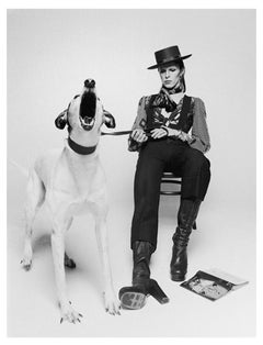 David Bowie Diamond Dogs, View 2 by Terry O'Neill, 1974