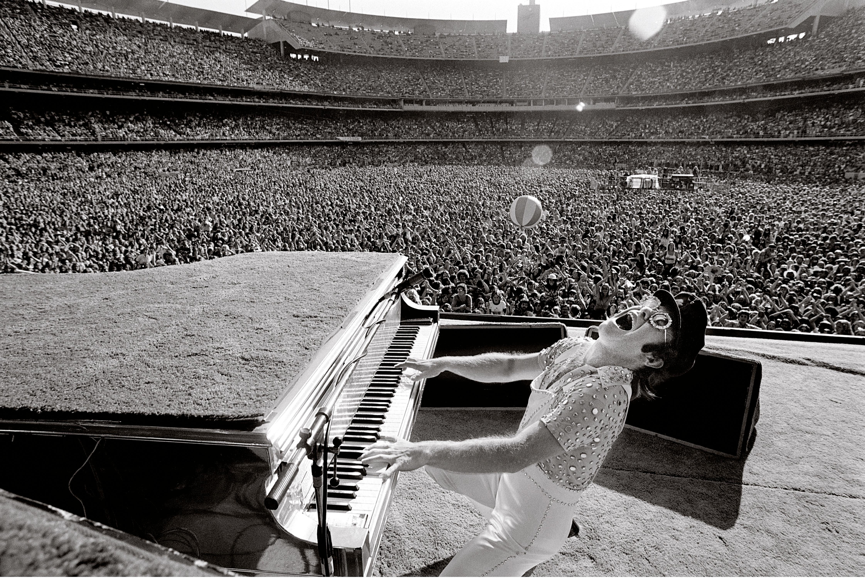 Elton John at Dodger Stadium-