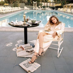 Faye Dunaway at the Pool