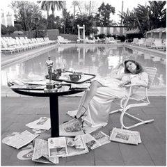 Faye Dunaway, Oscar Shoot (B&W)