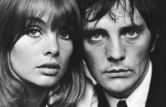 Jean Shrimpton & Terence Stamp, London, 1963 - Terry O'Neill (Black and White)