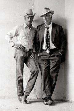 Paul Newman and Lee Marvin, 1972 - Terry O'Neill (Portrait Photography)