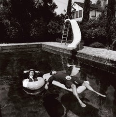 Terry O'Neill (Black and White) - Peter Cook & Dudley Moore, Beverly Hills