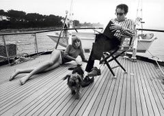 Peter Sellers and Britt Ekla, 1960 (Terry O'Neill - Black and White Photography)