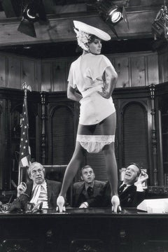 Raquel Welch on Bar Top