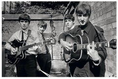 Terry O'Neill - Backyard Beatles - signed limited edition Oversize