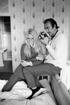 Terry O'Neill, Brigitte Bardot and Sean Connery