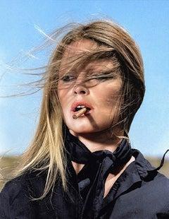 Terry O'Neill, Brigitte Bardot, colorized