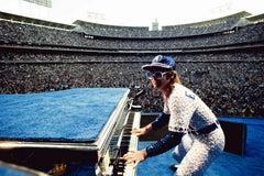 Terry O'Neill, 'Elton John, Dodger Stadium'