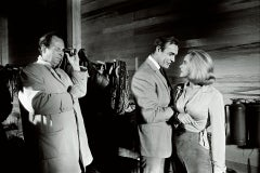 Terry O'Neill, Honor Blackman and Sean Connery (Goldfinger)