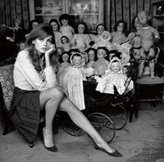 Terry O'Neill 'Jean Shrimpton (dolls)'