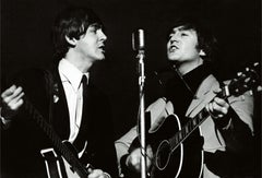 Terry O'Neill, Paul McCartney and John Lennon (Signed)