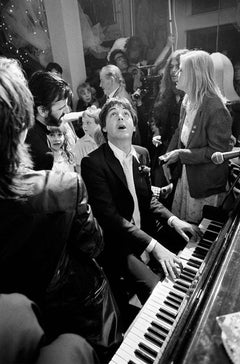 Terry O'Neill, Paul McCartney at Ringo Starr's Wedding (Signed)
