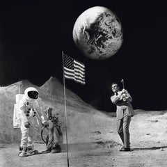 Terry O'Neill 'Sean Connery on the Moon' (Signed)