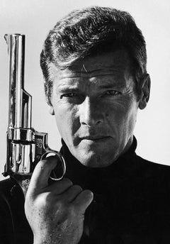 Terry O'Neill, Sir Roger Moore as James Bond (co-signed)