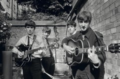 The Beatles, London - Terry O'Neill (Black and White Photography)