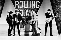 The Rolling Stones, TV Rehearsal, 1964 (Terry O'Neill)
