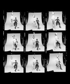 David Bowie Diamond Dogs Contact Sheet