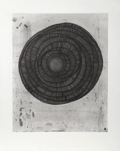 No. 1, Large Abstract Aquatint Etching by Terry Winters