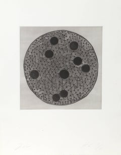 untitled Aquatint Etching by Terry Winters