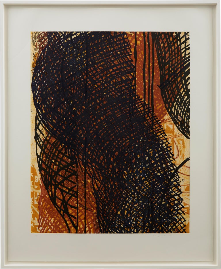 Two color intaglio on Arches En Tout Cas hand-torn paper Frame: 56 x 46 x 1 3/8 inches  Edition 28/45 Signed, dated, and numbered in graphite (lower recto): 28/45 Terry Winters 2000