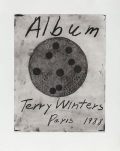 Cover and Colophon, Signed Etchings from Album by Terry Winters