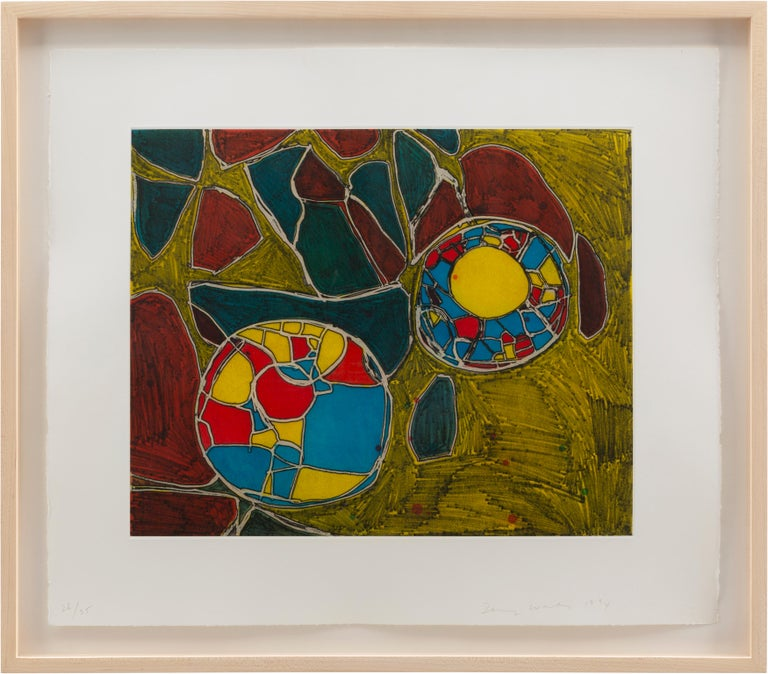 Terry Winters Abstract Print - Models for Synthetic Pictures, 9