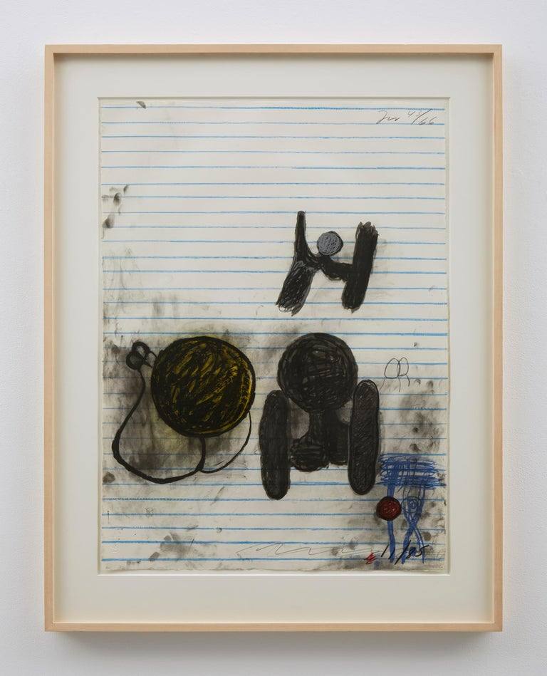 Lithograph in six colors on J. Whatman 1961 paper Frame: 39 x 30 3/8 inches Edition 43/66 Initialed, dated, and numbered in graphite (recto): TW 43/66 / 11/85  Available from Matthew Marks Gallery, New York and Los Angeles