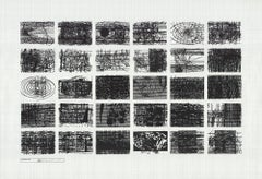 """Terry Winters-Location Plan 2000-29"""" x 42""""-Serigraph-2000-Abstract-Architecture"""