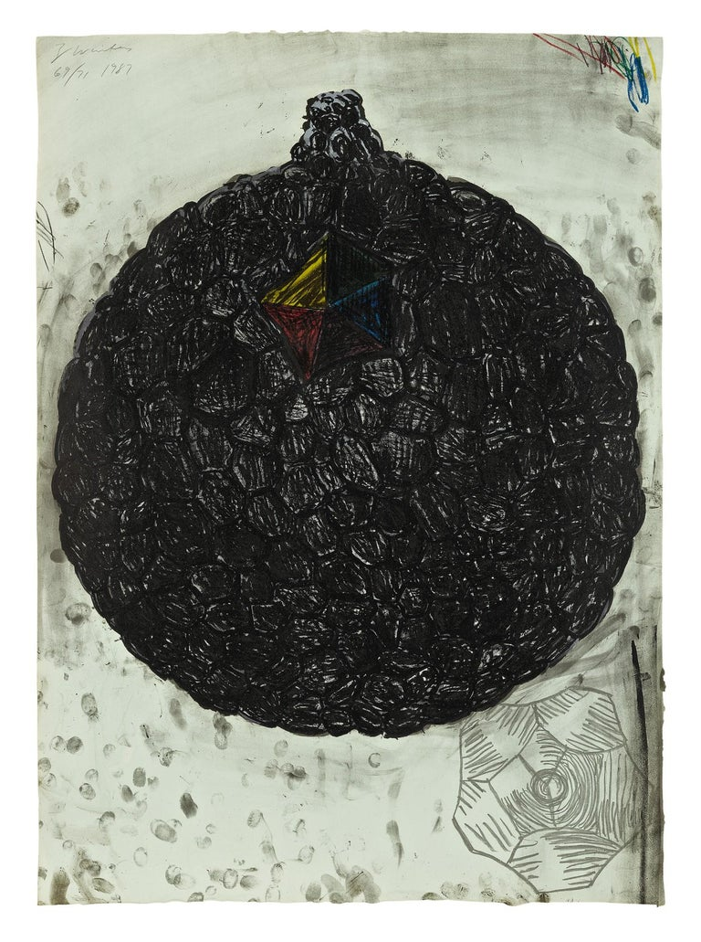 TERRY WINTERS  UNTITLED  AN INTRINSIC EYE  SIGNED AND NUMBERED - Print by Terry Winters