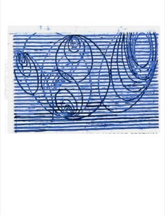 Untitled, 1999  Terry Winters  Lincoln Center Screenprint, Signed Ed. 108
