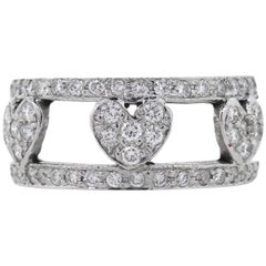 Tesoro Hearts in Cage Band Ring