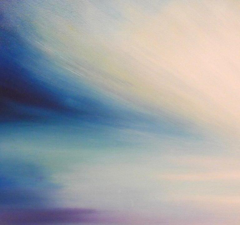 Zephyr Original Oil paint Canvas board Seascape Interiors Signed  For Sale 5