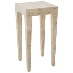 Tessellated Cantor Stone Cube Side Table, 1990s