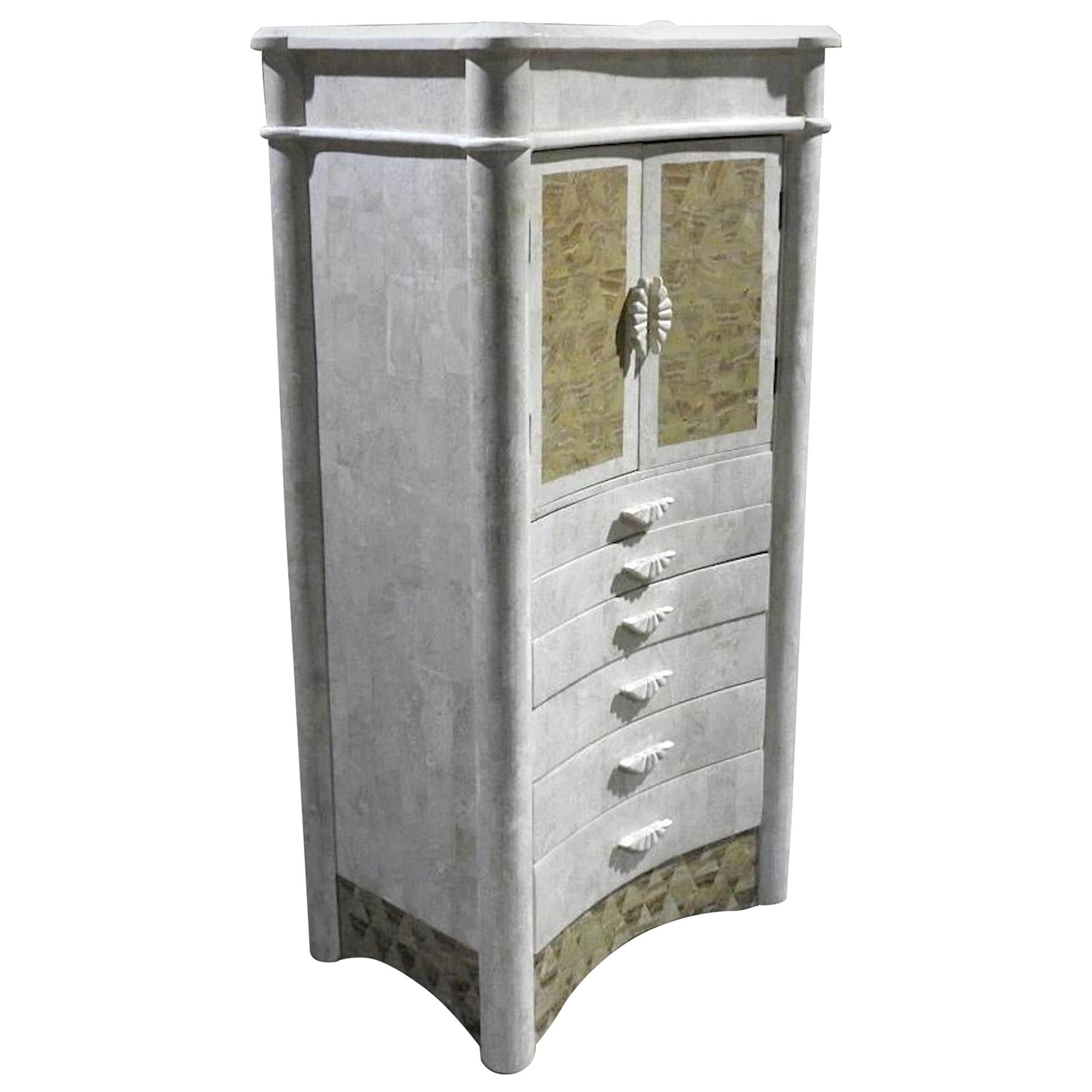 Tessellated Jewelry Cabinet