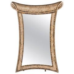 Tessellated Marble Mirror