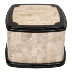 Tessellated Stone and Marble Occasional Table