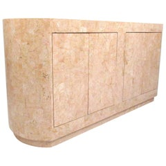 Tessellated Stone Buffet in the Manner of Maitland Smith